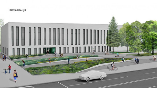 В Виннице проводится реконструкция спорткомплекса СКА