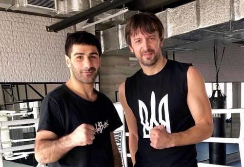Шовковский начал заниматься боксом