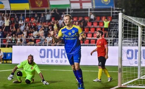 Мини-футбол. Украина обыграла Швейцарию со счетом 10:2