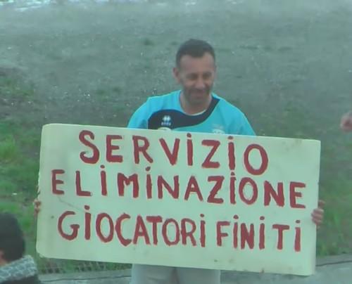 ВИДЕО ДНЯ. Итальянский футболист инсценировал свое похищение