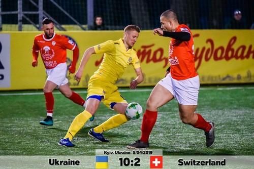 Украина – Швейцария – 10:2. Видео голов и обзор матча