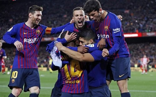 Барселона — Атлетико — 2:0. Видео голов и обзор матча