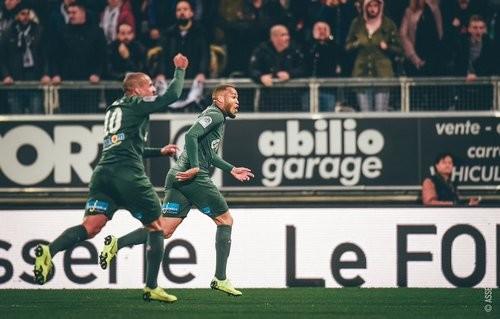 Амьен — Сент-Этьен — 2:2. Видео голов и обзор матча