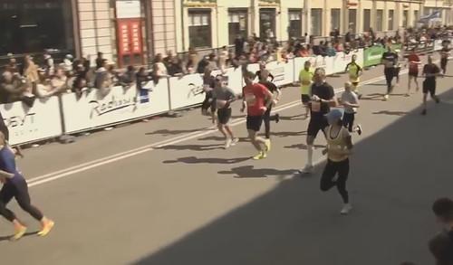 Виталий Кличко пробежал 10 километров