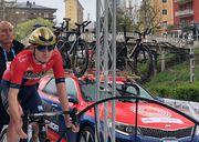 Марк Падун финишировал последним на 1-м этапе Тура Страны Басков