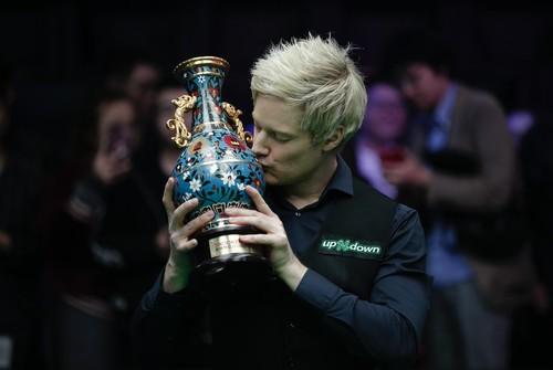 China Open: Робертсон обыграл Лисовски в финале