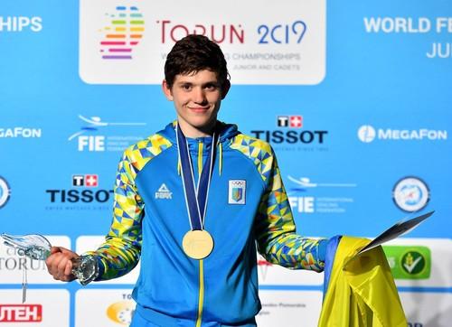 Украинец Василий Гумен стал чемпионом мира по фехтованию среди кадетов