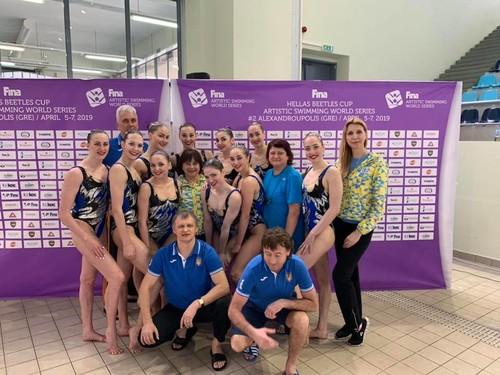 Артистическое плавание. Еще два золота сборной Украины в Греции