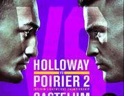 Файткард турніру UFC 236 Холловей проти Пор'є
