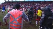 ВИДЕО. Матч двух бразильских команд закончился массовой дракой