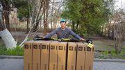 Украинские биатлонисты получили 50 пар новых лыжероллеров