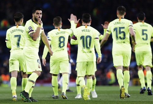 Суарес не смог забить в 17-м подряд выездном поединке Лиги чемпионов