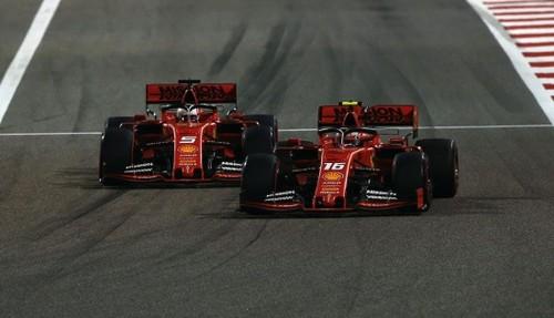 Гран-прі Китаю. 1000 гонка Ф-1, Феттель проти Хемілтона і Леклера