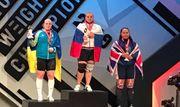 Українка Лисенко завоювала срібло на ЧЄ з важкої атлетики