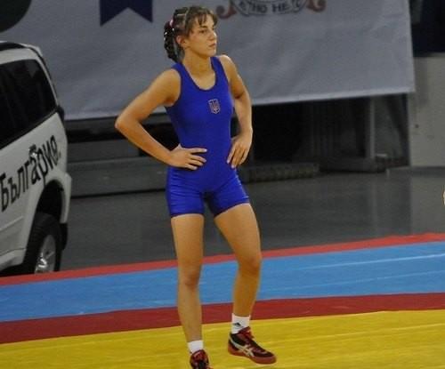 Украинка Горишна завоевала серебро на чемпионате Европы по борьбе