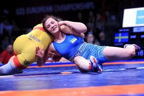 Татьяна Кит выиграла серебро чемпионата Европы по борьбе