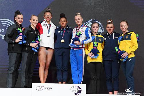 Пахнюк стал 6-м, Бачинская и Варинская – в топ-8 на чемпионате Европы