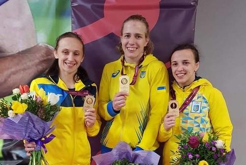 Украина лидирует в медальном зачете чемпионата Европы по борьбе