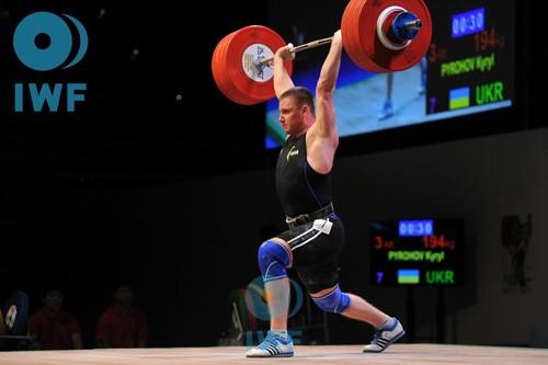 Кирилл Пирогов стал бронзовым призером ЧЕ по тяжелой атлетике