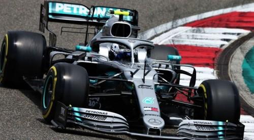 Боттас опередил Хэмилтона и выиграл квалификацию Гран-при Китая