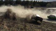 ВИДЕО. Автомобиль влетел в зрителей на гонках в Швеции