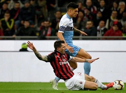 Милан минимально обыграл Лацио