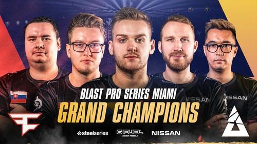 FaZe Clan стали чемпионами BLAST Pro Series Miami 2019