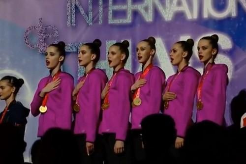 Сборная Украины стала победительницей этапа Кубка мира в Софии
