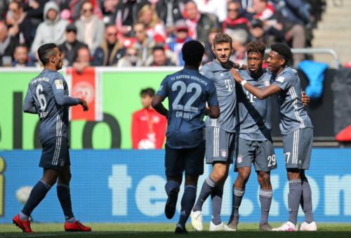 Фортуна – Бавария – 1:4. Видео голов и обзор матча