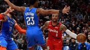 НБА. Портленд стартует в плей-офф с победы над Оклахомой