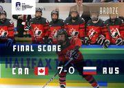 ВИДЕО. Сборная Канады разгромила Россию 7:0 и стала третьей