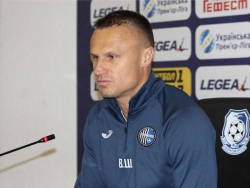 Вячеслав ШЕВЧУК: «Перед игрой травмировались оба наших вратаря»