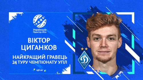 Цыганков - лучший игрок тура УПЛ, Рябоконь - лучший тренер