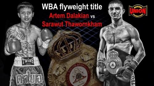 Далакян проведет защиту титула 15-го июня в Киеве