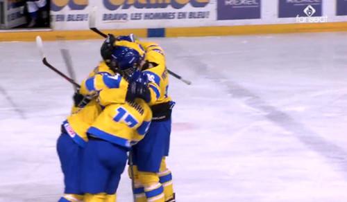 ЧМ по хоккею U-18. Украина разгромно уступила Дании