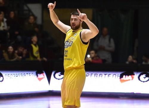 Вячеслав Петров стал лучшим игроком полуфинала Суперлиги