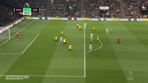 Уотфорд – Арсенал. Курьезный гол Обамеянга