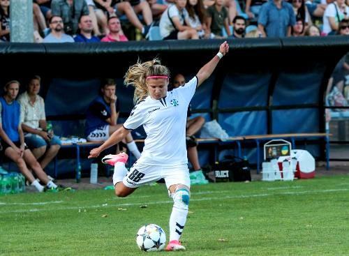 Жилстрой-1 проиграл в первом матче 1/16 финала Лиги чемпионов