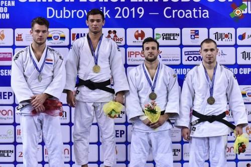 Сборная Украины завоевала 9 медалей на Кубке Европы по дзюдо