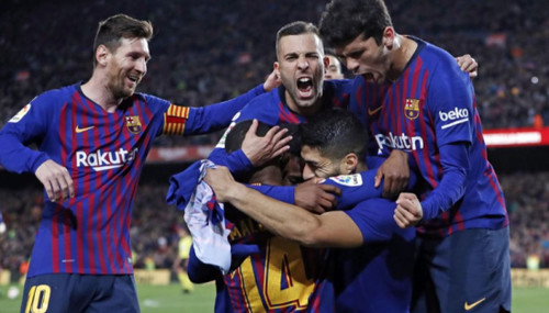 Барселона - МЮ. Видео голов и обзор матча