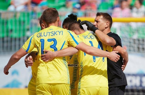Украина обыграла Азербайджан в спарринге по пляжному футболу