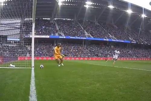 ВИДЕО. Безумный автогол Нью -Йорка из чемпионата MLS