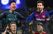 УЕФА определил претендентов на звание лучшего игрока недели в ЛЧ