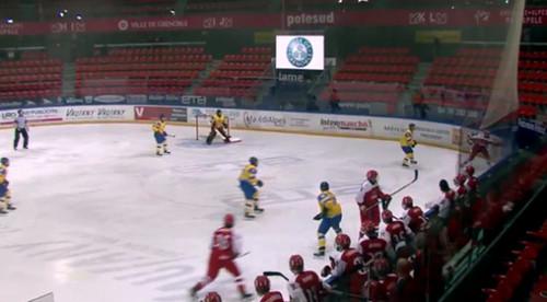 ЧМ по хоккею U-18. Украина пропустила 6 шайб от Казахстана