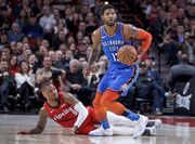 НБА. Оклахома сокращает отрыв с Портлендом, Бостон обыграл Индиану