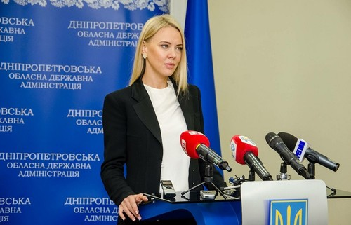 Жена тренера Зари стала заместителем губернатора Днепропетровщины