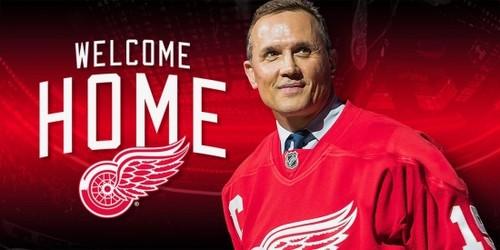 НХЛ. Легендарный Стив Айзерман стал генеральным менеджером Детройта