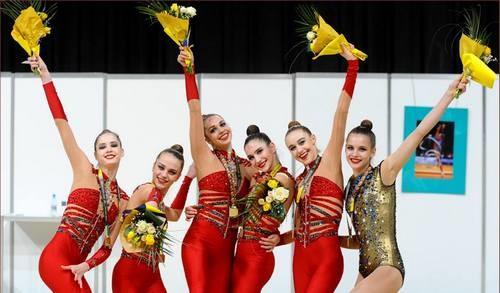 Украинские гимнастки завоевали бронзу на этапе Кубка мира в Ташкенте