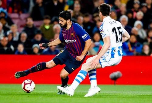 Барселона не без проблем обыграла Реал Сосьедад
