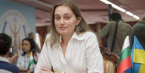 Украинка Гапоненко обыграла россиянку Кашлинскую на ЧЕ по шахматам